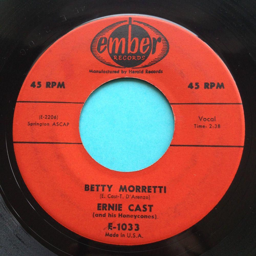 Ernie Cast - Betty Morretti - Ember - Ex
