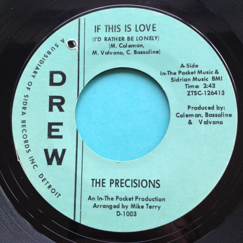 Precisions - If this is love (I'd rather be lonely) - Drew - Ex