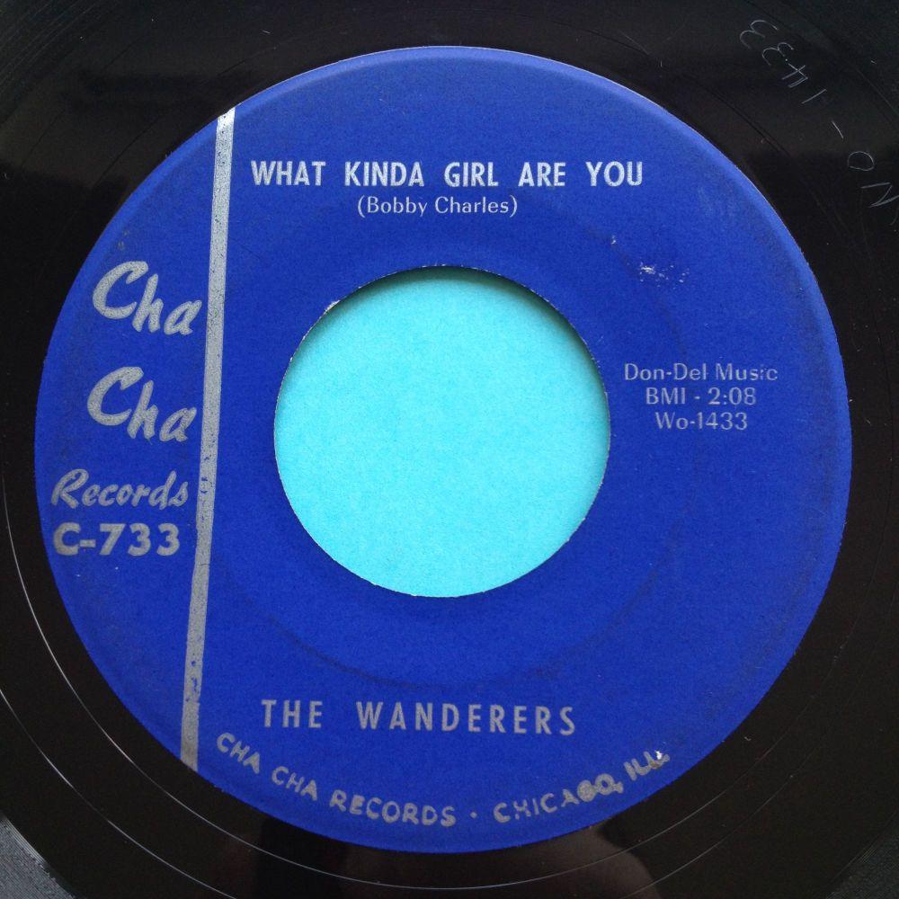Wanderers - What kinda girl are you - Cha Cha - Ex-