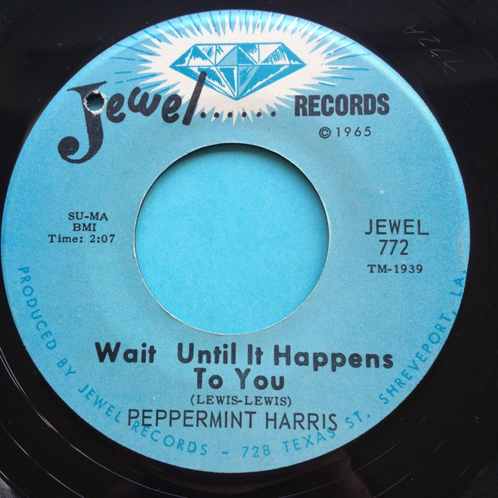 Peppermint Harris - Wait until it happens to you - Jewel - Ex