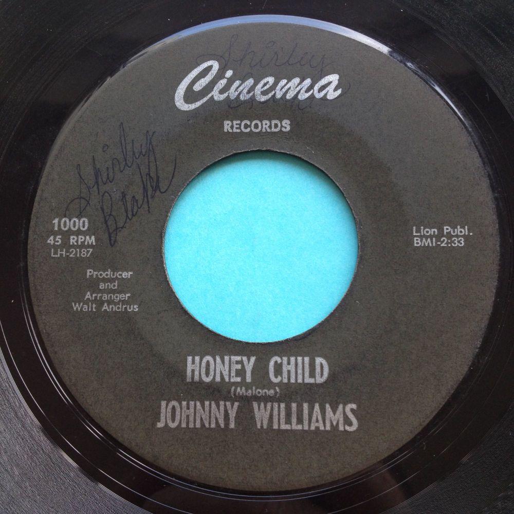 Johnny Williams - Honey Child - Cinema - Ex-