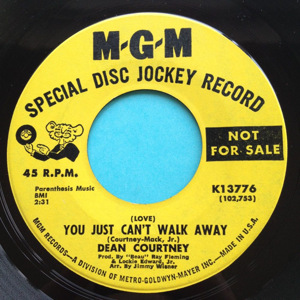 Dean Courtney - (Love) - You just can't walk away - MGM - Ex