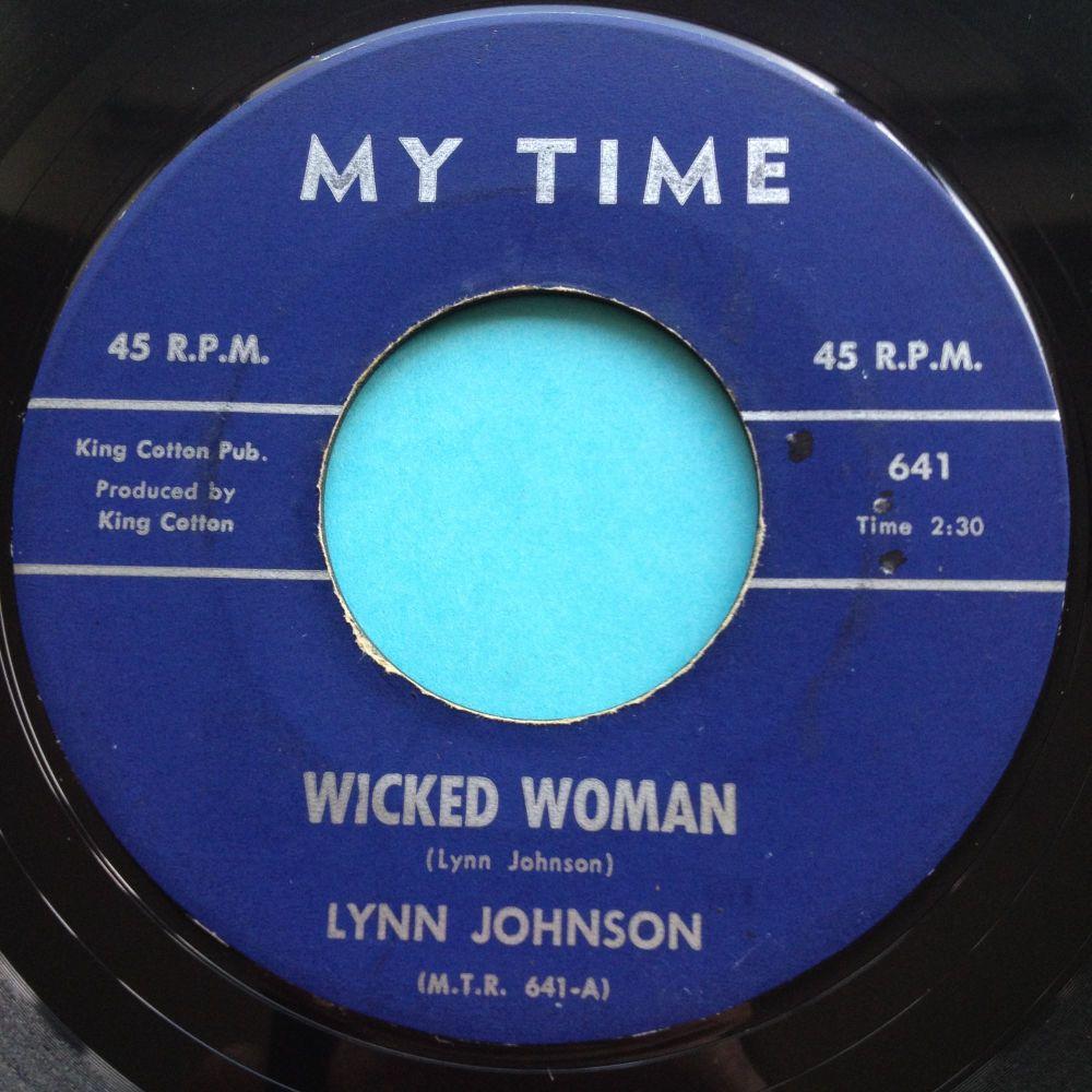 Lynn Johnson - Wicked Woman - My Time - Ex