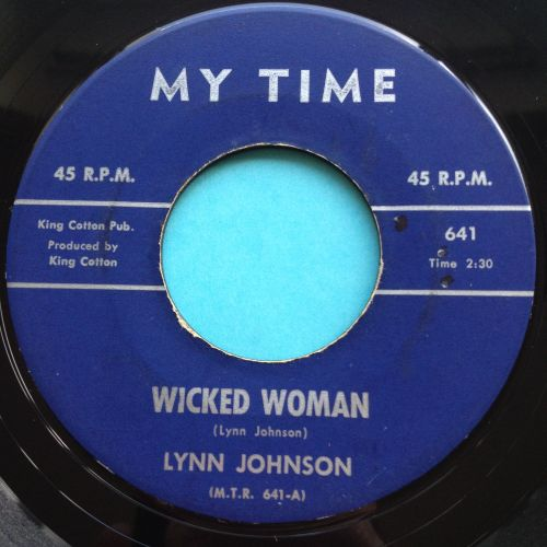 Lynn Johnson - Wicked Woman - My Time - Ex