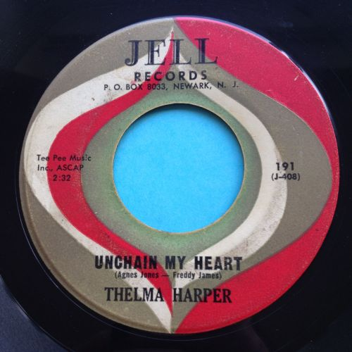 Thelma Harper - Unchain my heart - Jell - VG+