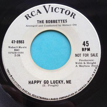 Bobbettes - Happy go lucky me - RCA promo - Ex
