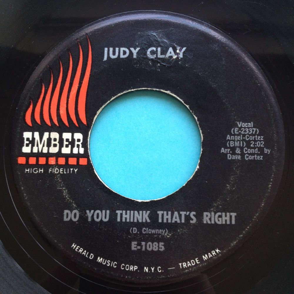 Judy Clay - Do you think thats right - Ember - VG+