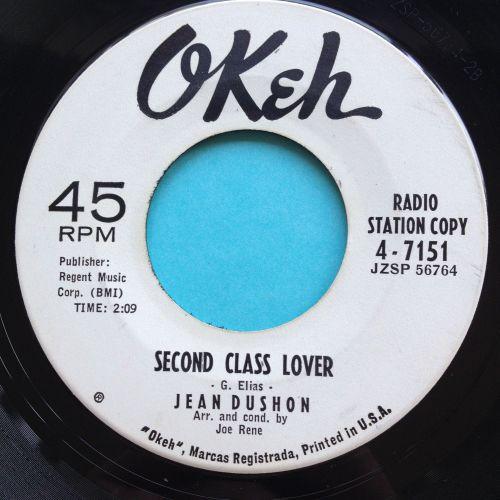 Jean Dushon - Second class lover - Okeh promo - Ex-