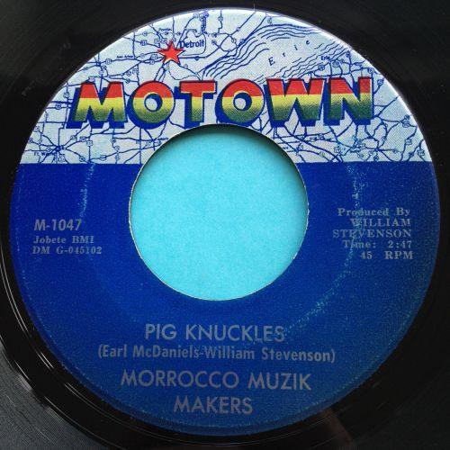 Morrocco Muzik Makers - Pig Knuckles - Motown - Ex