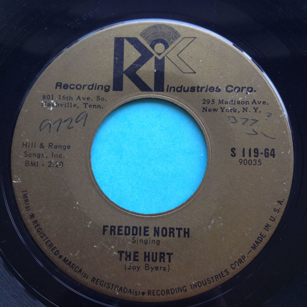 Freddie North - The Hurt - RIC - VG+