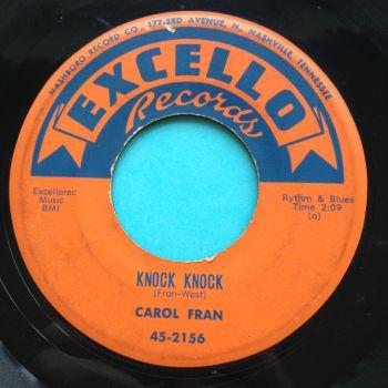 Carol Fran - Knock knock - Excello - Ex-