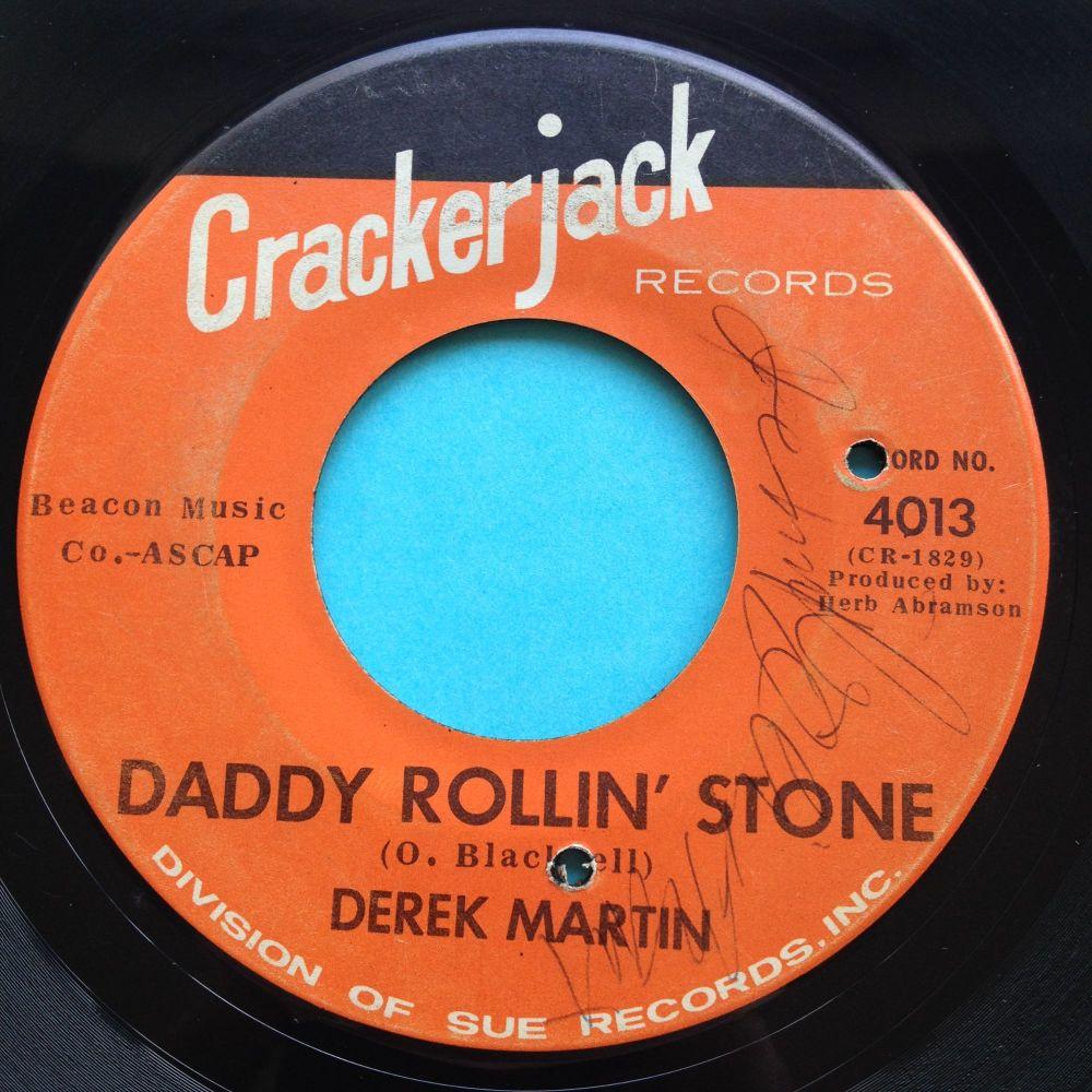 Derek Martin - Daddy Rollin' Stone - Crackerjack - Ex-
