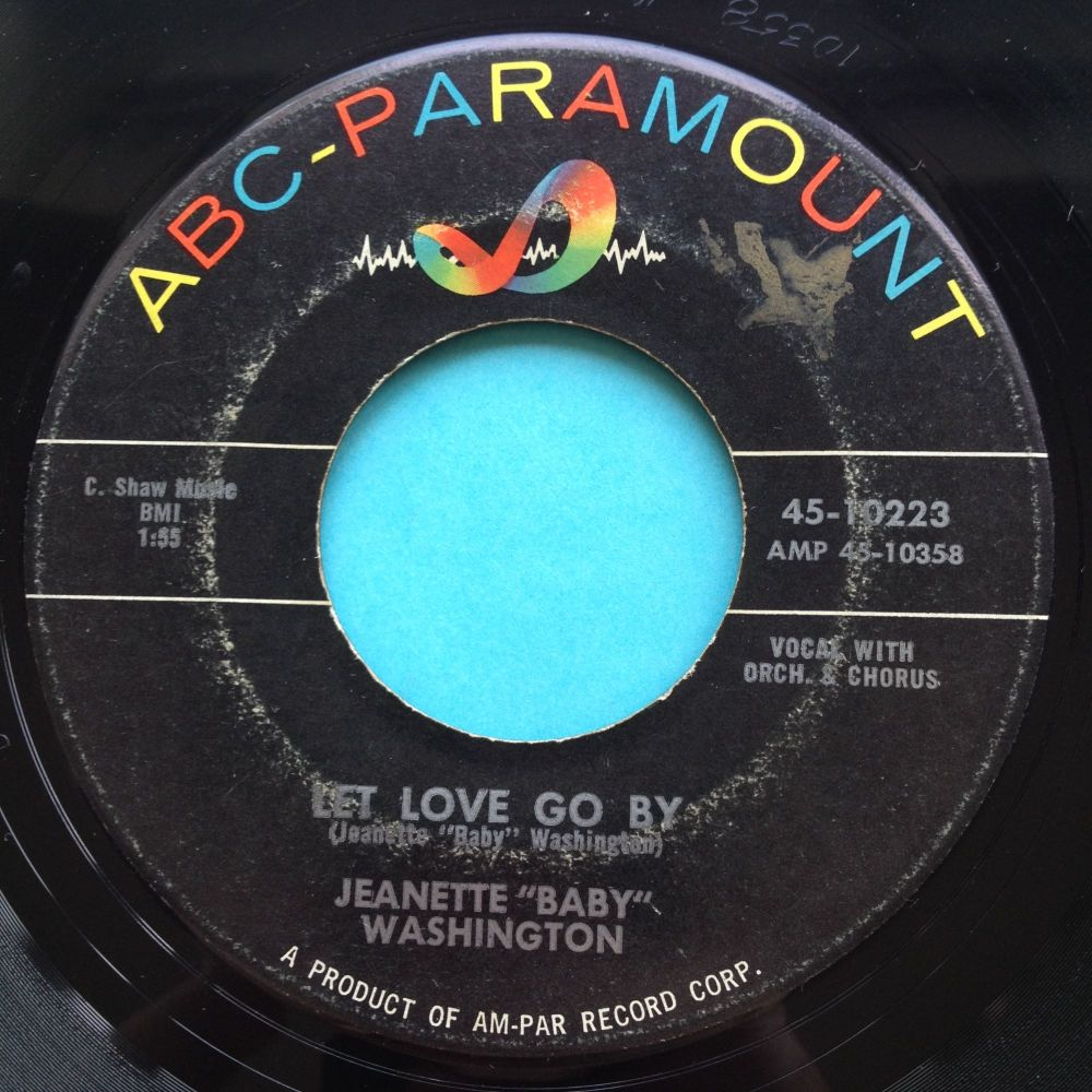 Jeanette 'Baby' Washington - Let love go by - ABC - Ex