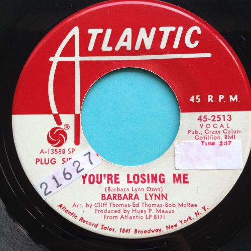 Barbara Lynn - You're losing me - Atlantic promo - Ex (wol, sol)