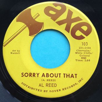Al Reed - Sorry about that - Axe - Ex
