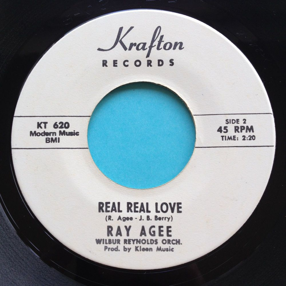 Ray Agee - Real Real Love - Krafton promo - Ex