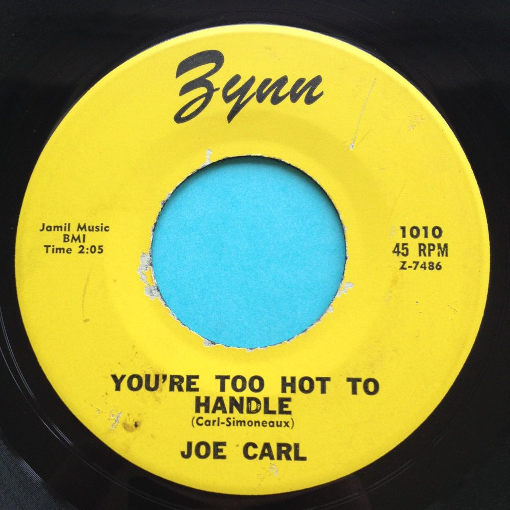 Joe Carl - You're too hot to handle - Zynn - Ex