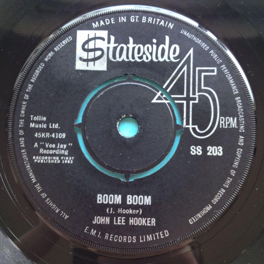 John Lee Hooker - Boom Boom - U.K. Stateside - Ex-