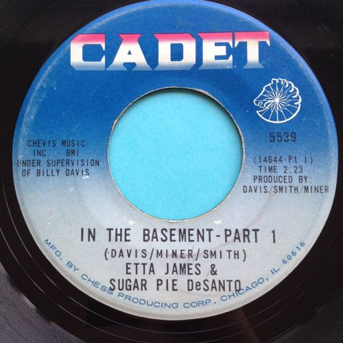 Etta James & Sugar Pie Desanto - In the basement - Cadet - Ex