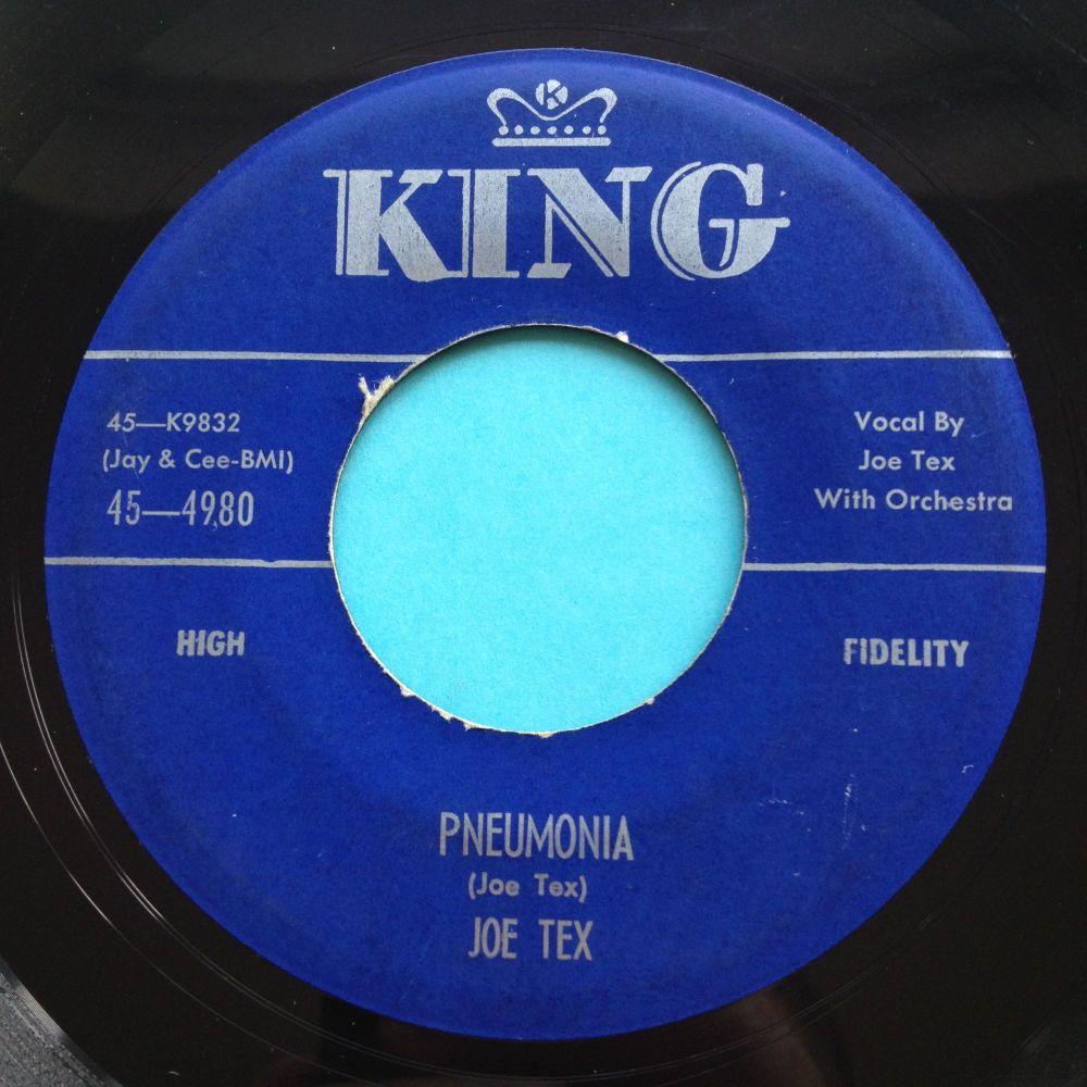 Joe Tex - Pneumonia - King - Ex-