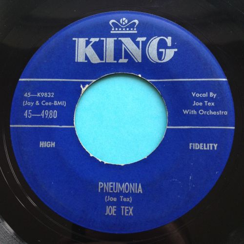 Joe Tex - Pneumonia - King - Ex-