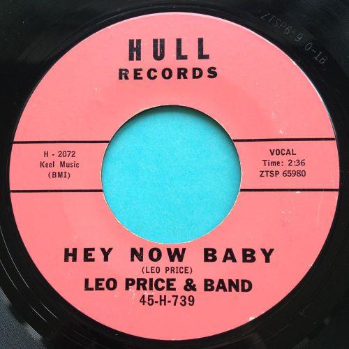 Leo Price & Band - Hey now baby - Hul - VG+