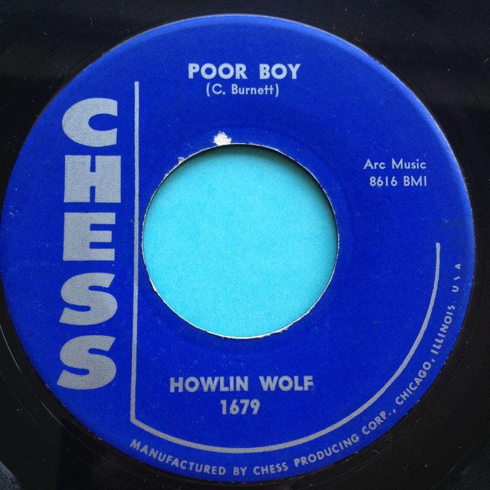 Howlin' Wolf - Poor boy - Chess - Ex
