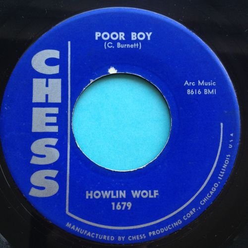 Howlin' Wolf - Poor boy - Chess - Ex