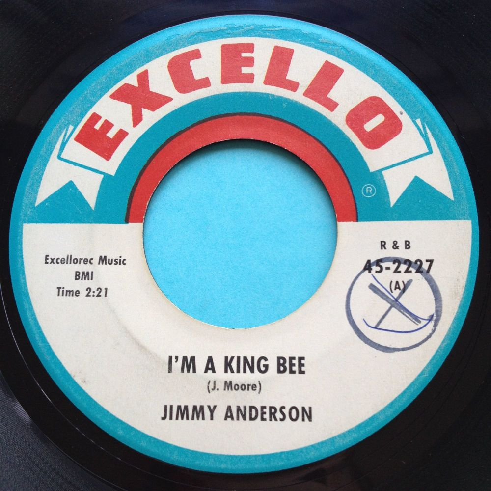 Jimmy Anderson - I'm a king bee - Excello - Ex-