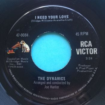 Dynamics - I need your love - RCA - VG+
