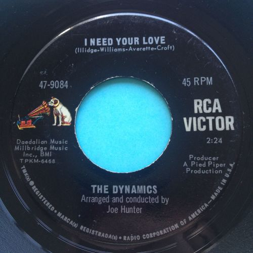 Dynamics - I need your love - RCA - Ex-