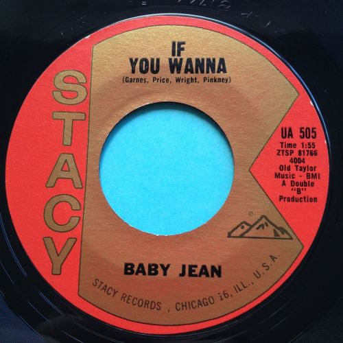 Baby Jean - If you wanna - Stacy - Ex
