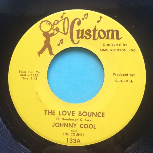 Johnny Cool - The love bounce - Custom - Ex