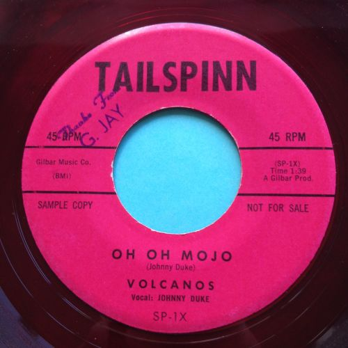 Volcanos - Oh Oh Mojo - Tailspin (Red vinyl) - Ex