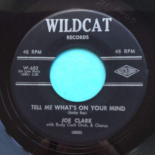 Joe Clark - Tell me what's on your mind - Wildcat - Ex-