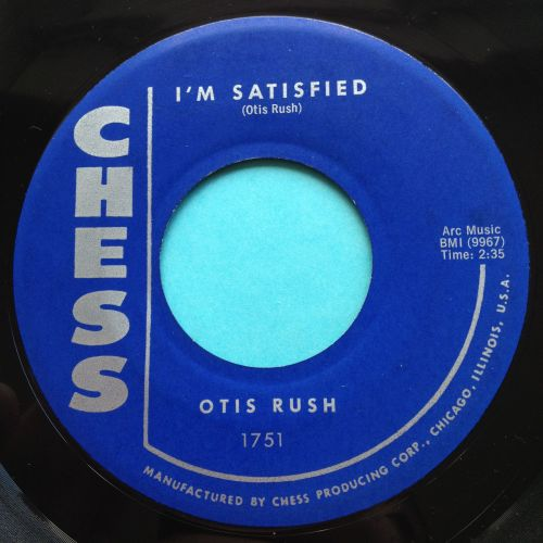 Otis Rush - I'm Satisfied - Chess - Ex