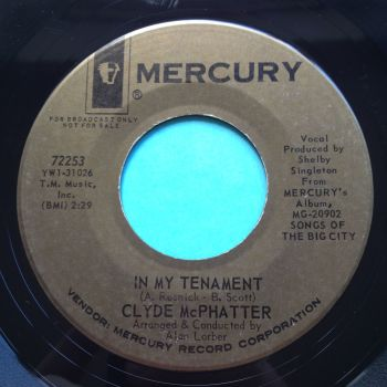 Clyde McPhatter - In my tenament - Mercury - Ex