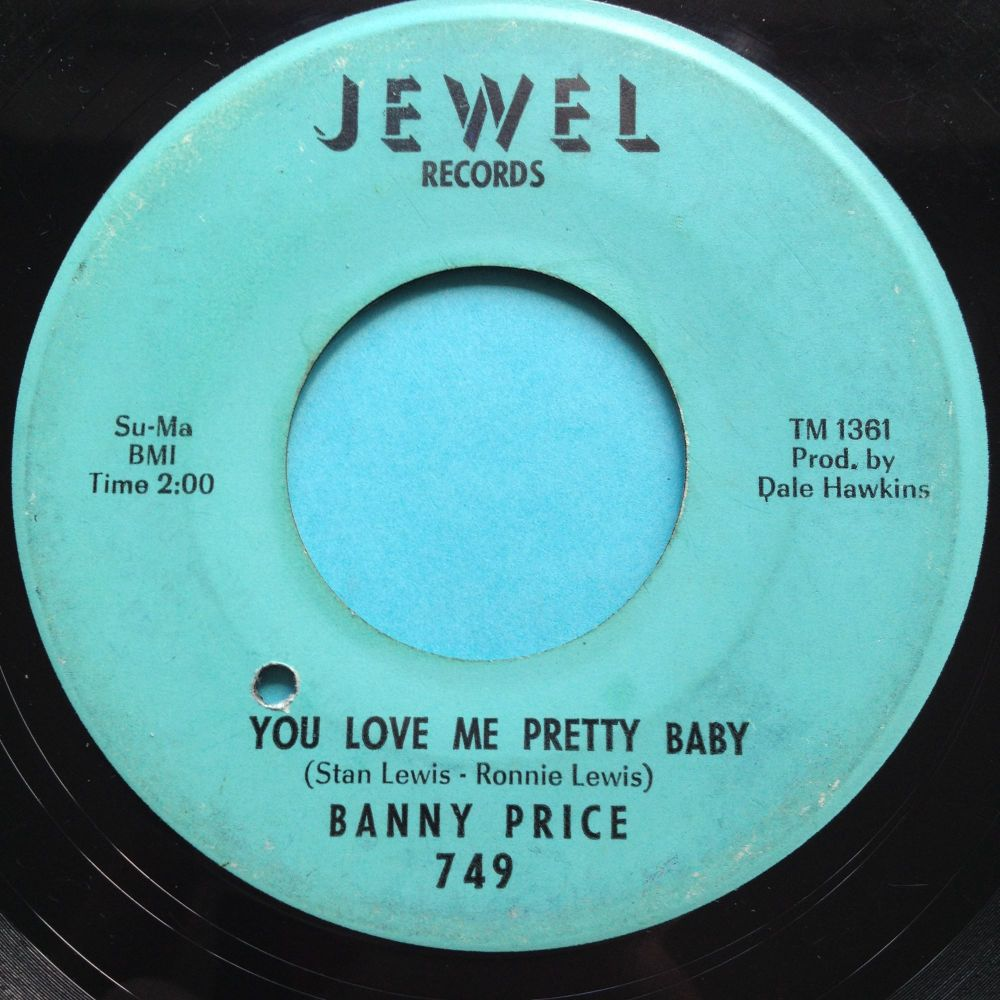 Banny Price - You love me pretty baby - Jewel - VG+ (lots of light scuffs,