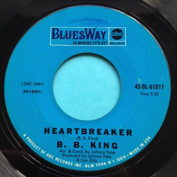 B B King - Heartbreaker - Bluesway - Ex-