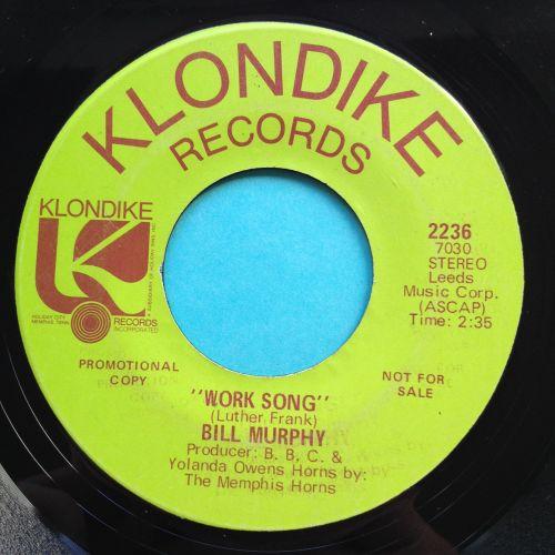 Bill Murphy - Work Song - Klondike promo - VG+