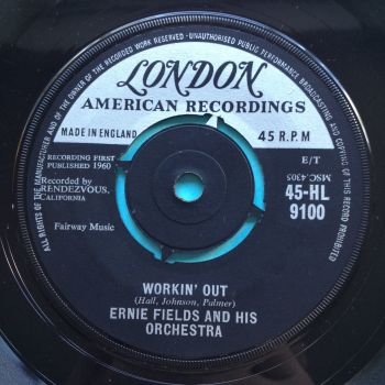 Ernie Fields - Workin' Out - UK London - Ex-