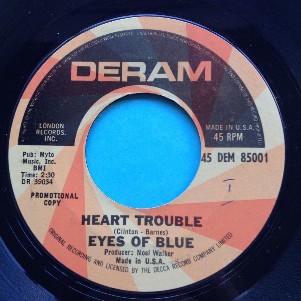 Eyes of Blue - Heart trouble - Deram promo - Ex