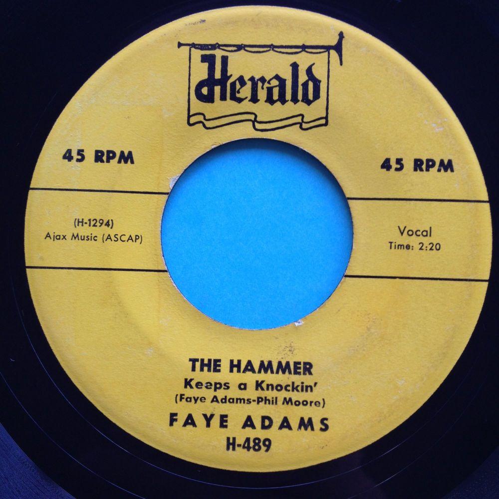 Faye Adams - The Hammer - Herald - Ex-
