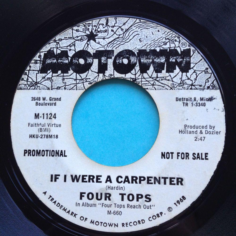 Four Tops - If I were a carpenter - Motown promo - VG+