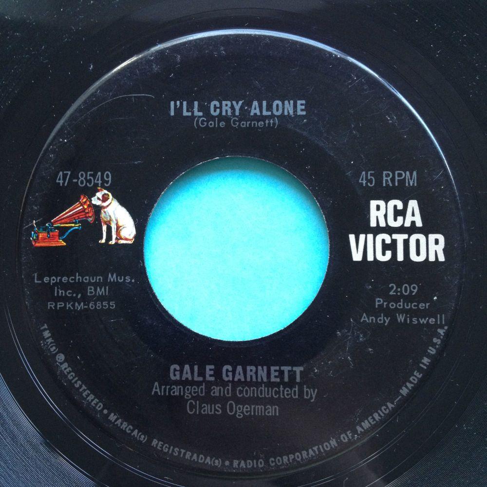 Gale Garnett - I'll cry alone - RCA - Ex