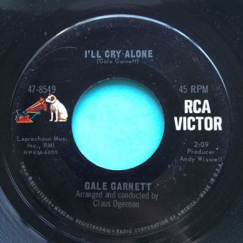 Gale Garnett - I'll cry alone - RCA - Ex