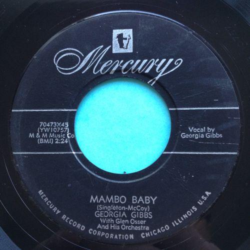 Georgia Gibbs - Mambo baby - Mercury - Ex-