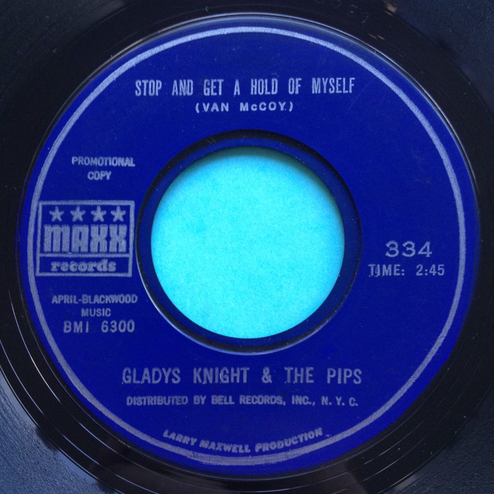 Gladys Knight & The Pips - Stop and get a hold of myself - Maxx - VG+