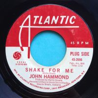 John Hammond - Shake for me - Atlantic promo - Ex