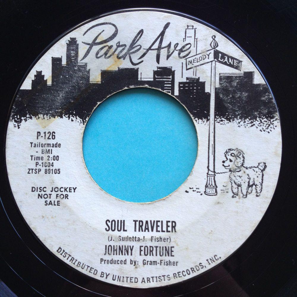 Johnny Fortune - Soul Traveler - Park Ave promo - VG plays VG+